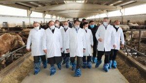 Afganistan Tarım Bakanı Anwar-Ul Haq Ahady Kayseri Şeker'de