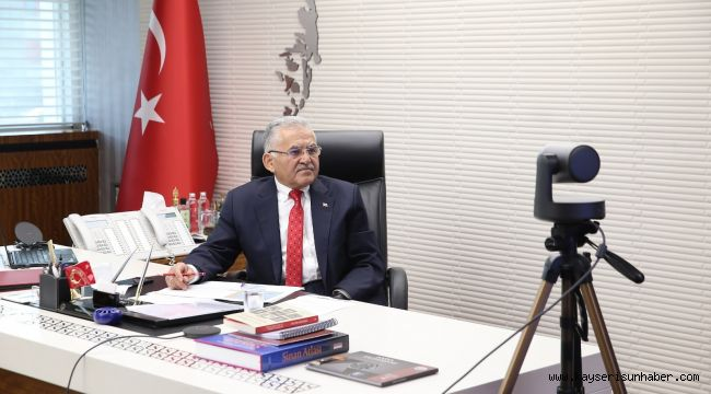 Başkan Büyükkılıç ORAN Kalkınma Ajansı toplantısına katıldı