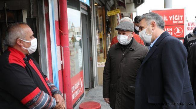 Başkan Çolakbayrakdar'dan hafta sonu maske, mesafe ve hijyen denetimi