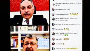 Başkan Yalçın ve Hayati İnanç ile Online Sohbet