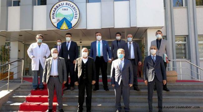 İl Sağlık Müdürü Benli'den Pınarbaşı İlçesine Ziyaret