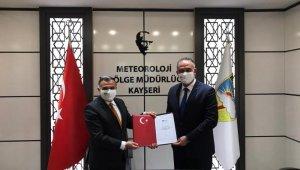 Meteoroloji Parkı için alan devir protokolü imzalandı