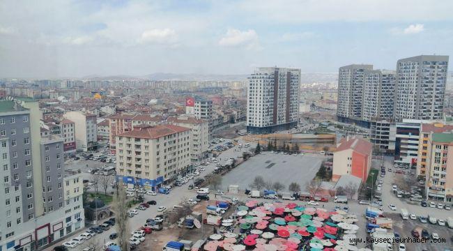 Kayseri'de Mart ayında 2 bin 186 konut satıldı