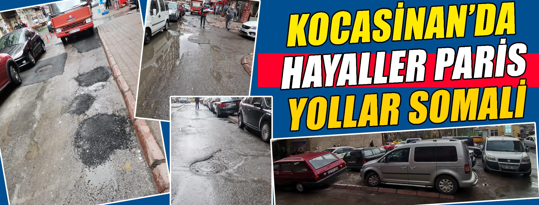 KOCASİNAN'DA HAYALLER PARİS YOLLAR SOMALİ
