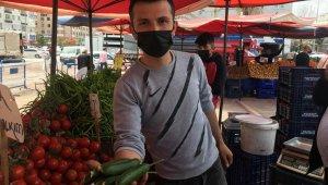 Ramazanın ilk haftasında semt pazarlarında salatalığa yüzde 100 zam