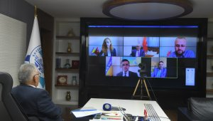 Başkan Büyükkılıç, hem Büyükelçi hem de Gorajde başkanıyla görüştü