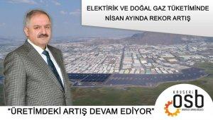 """Başkan Nursaçan: """"Sanayicilerimiz toprağıyla ödeşiyor"""""""