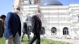 Fatma-Kemal Şallıoğlu Camisi'nde sona doğru