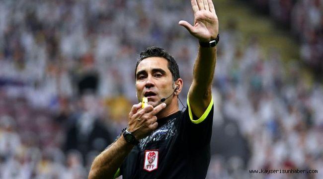 Malatyaspor - Kayserispor maçının VAR'ı Koray Gençerler