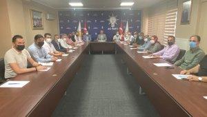 AK Parti Sarız İlçe Yönetim Kurulu Toplantısı düzenlendi