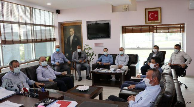 Ali İhsan Kabakcı şube müdürleri ile bir araya geldi