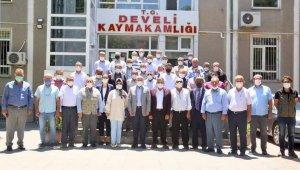 Develi'de Mayıs ayı muhtarlar toplantısı yapıldı