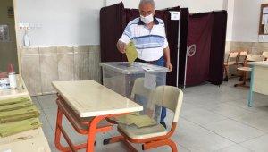 Kayseri'de 9 mahallenin muhtarı ara seçimle belirlendi