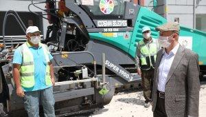 Kocasinan Belediyesi yenileme çalışmalarını her gün bir mahalle devam ettiriyor