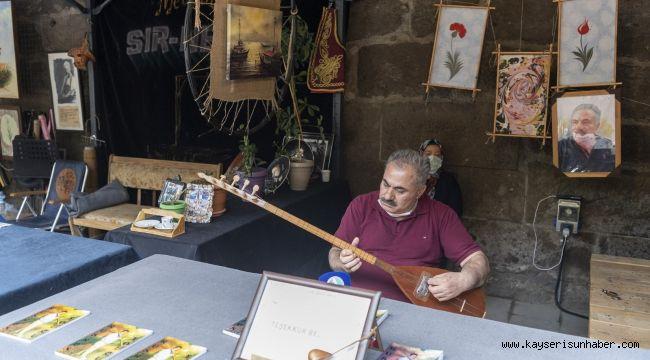 Sanatçılar Sokağı Kayserilileri bekliyor
