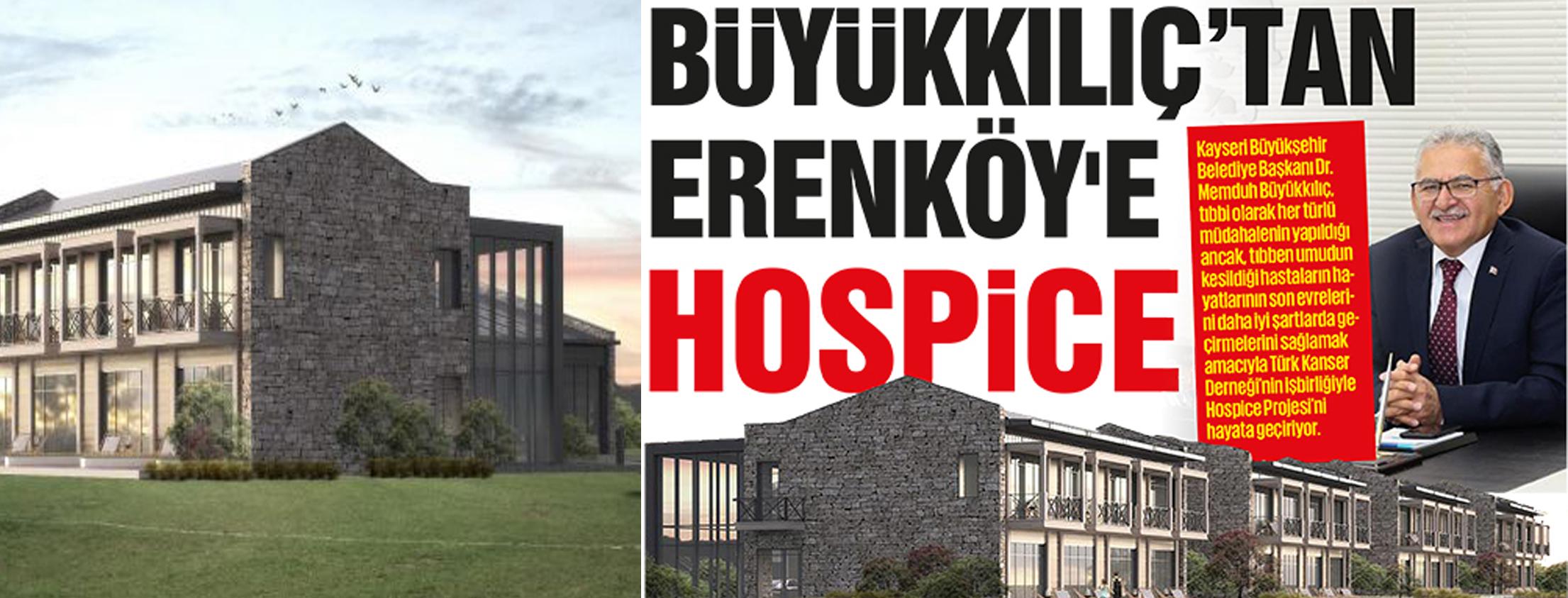 Başkan Büyükkılıç'tan bir proje daha: