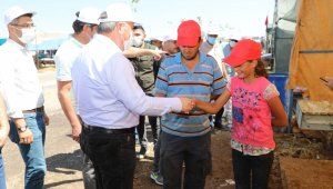 Başkan Palancıoğlu kurban pazarını gezdi, pazarlık yaptı