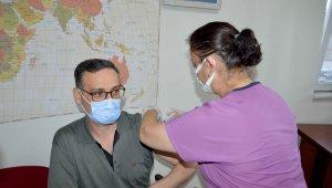 Kayseri'de 1 milyonuncu doz uygulandı