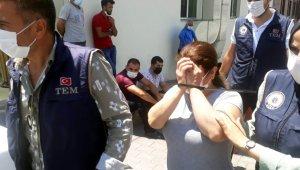 Kayseri'de terör örgütü şüphelisi 3 kadın tutuklandı