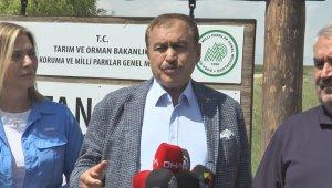 TBMM Küresel İklim Değişikliği Komisyonu Sultan Sazlığı'nda incelemelerde bulundu