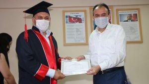 Türkiye'de ilk kez hem lise hem ustalık diploma töreni gerçekleştirildi