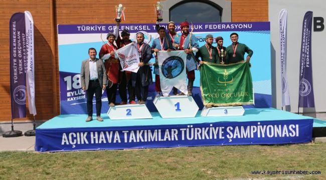 Açık Hava Takımlar Türkiye Şampiyonası sona erdi