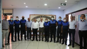 Başkan Cabbar, Zabıta Haftasında personeliyle bir araya geldi