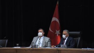 Büyükşehir Belediyesi Eylül ayı meclis toplantısını gerçekleştirdi