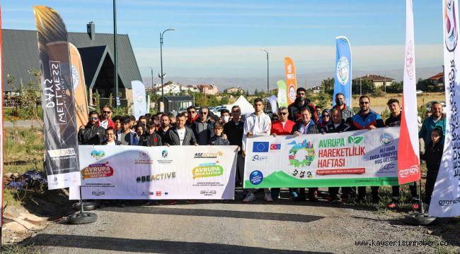 Hareketlilik Haftası'nda herkes Ali Dağı 360'ta buluştu