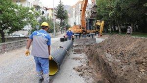 KASKİ, yağmur sularını kanalizasyon hattından ayırıyor