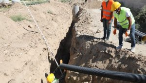KASKİ'den Yeşilhisar'a 4 milyon 700 bin TL'lik yatırım