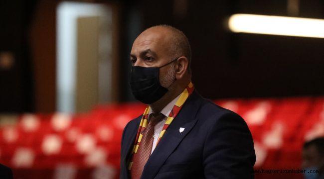 """Kayserispor Asbaşkanı Ali Çamlı: """"Takımımız ligde başarılı olacaktır"""""""