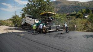 Melikgazi'de asfalt çalışmaları devam ediyor