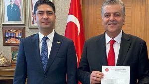 Milletvekili Özdemir'den İncetoprak'a tebrik