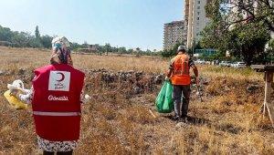 Talas Belediyesi'nden 'Dünya Temizlik Günü'nde anlamlı etkinlik