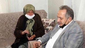 Başkan Yalçın yaşlıların duasını almaya devam ediyor
