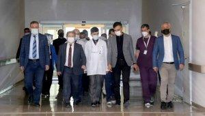 Kamu Hastaneleri Genel Müdür Yardımcısı Bener'den Kayseri Şehir Hastanesine Ziyaret