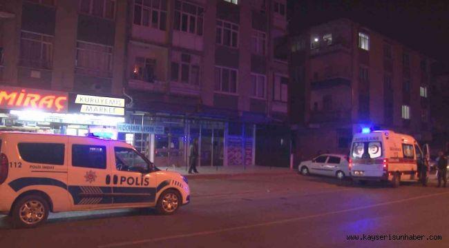 Kayseri'de ikamet yangını