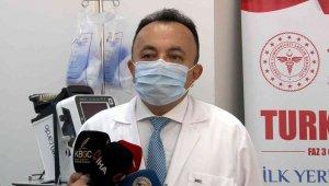 Yerli korona virüs aşısı TURKOVAC'ın hatırlatma dozu ERÜ'de uygulandı